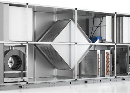 In-duct evaporative cooling strategies