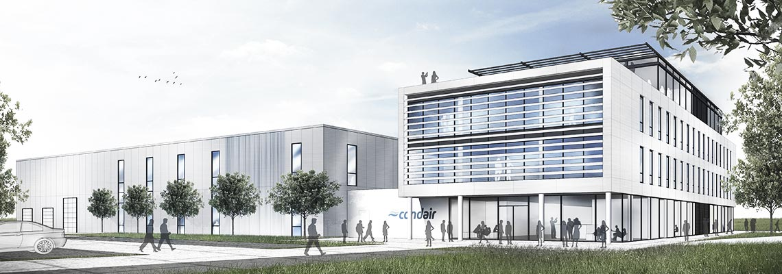 New Condair Logistics and Production site for EMEA in Hamburg/Norderstedt