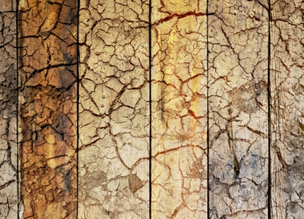 Too dry, too warm: heating can warp your floorboards