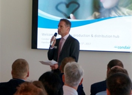Successful Condair is... Distributor Event 2017 at our new Condair Logistics & Production site in