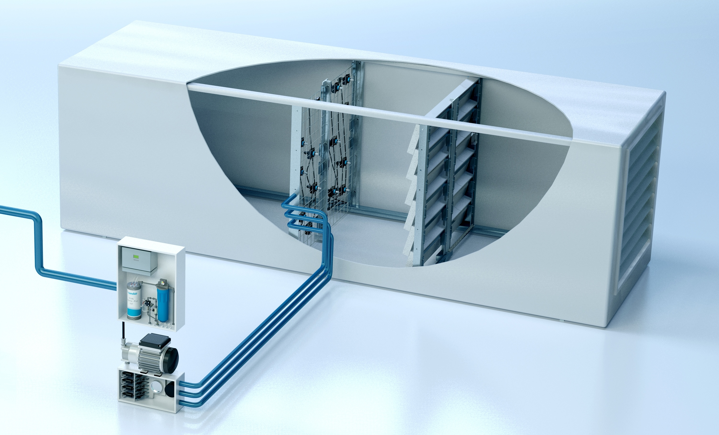 Humidification for HVAC projects